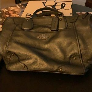 Coach leather satchel purse